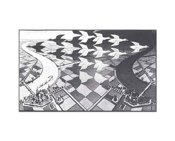Maurits Cornelis Escher Gündüz ve Gece