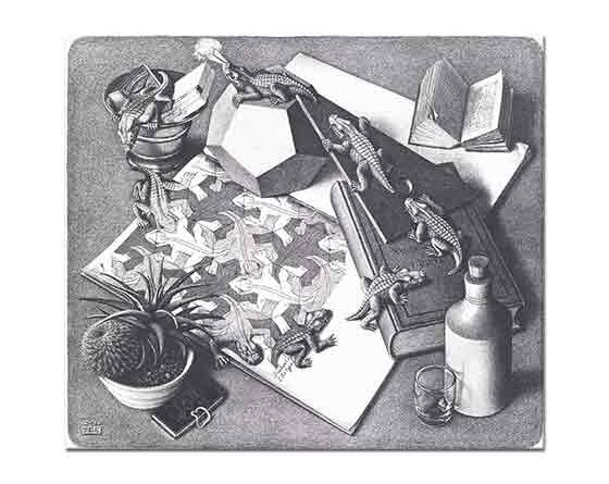 Maurits Cornelis Escher Sürüngenler