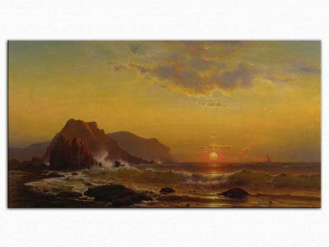 Mauritz de Haas Dalgalarda Günbatımı
