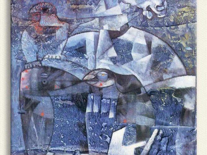 Max Ernst Mutlaklığım tablosu