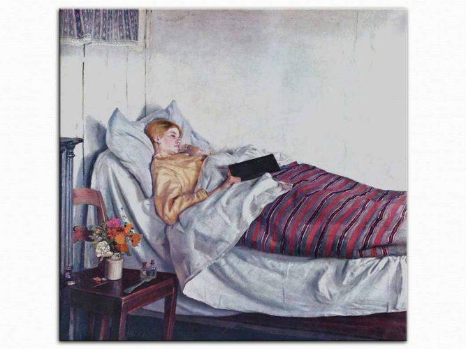 Michael Peter Ancher Hasta Kız