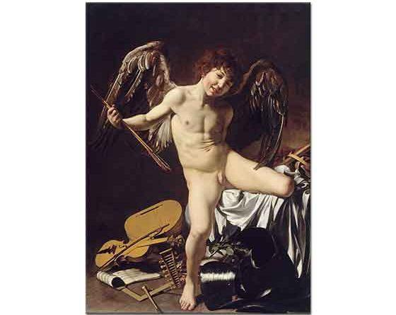 Michelangelo Caravaggio Aşk Meleği Victorious