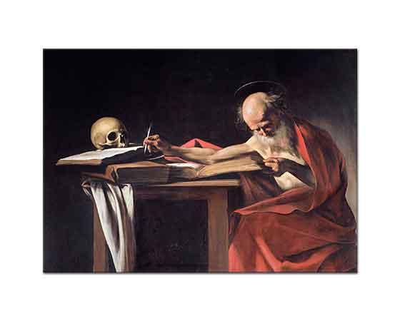 Michelangelo Caravaggio Aziz Jerome