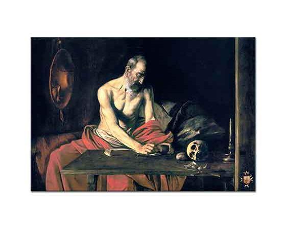 Michelangelo Caravaggio Aziz Jerome Yazarken