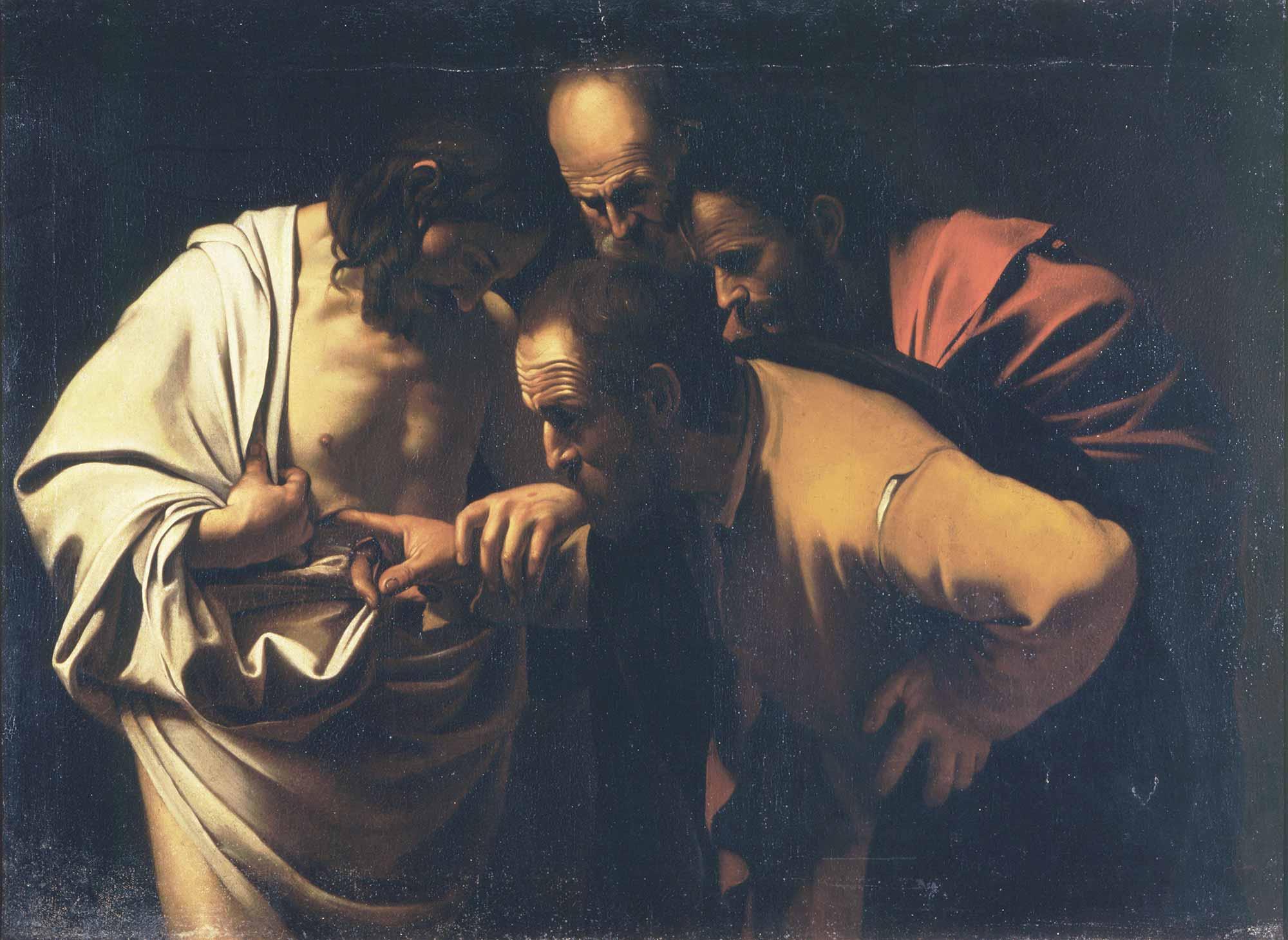 Michelangelo Caravaggio Aziz Thomas'ın Şüphesi