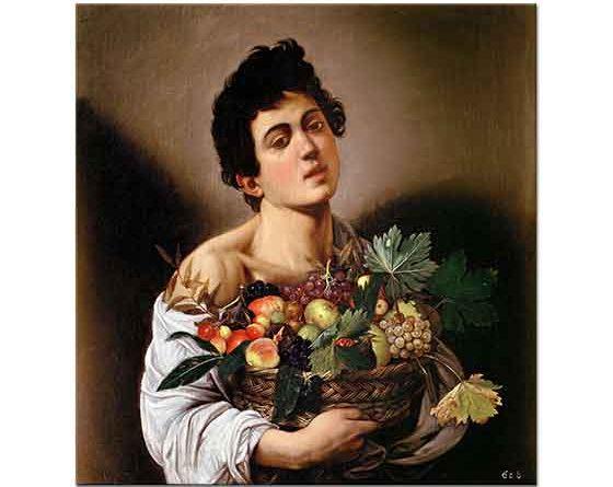 Michelangelo Caravaggio Çocuk ve Meyve Sepeti