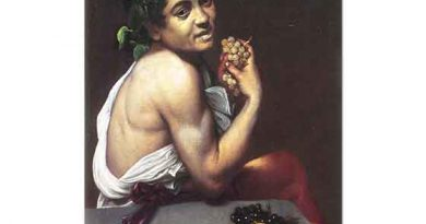Michelangelo Caravaggio Hasta Bacchus