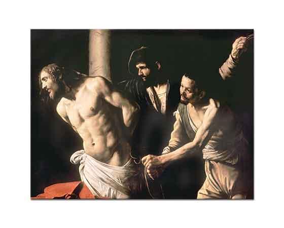 Michelangelo Caravaggio Hz Isa Sütuna Bağlanmış