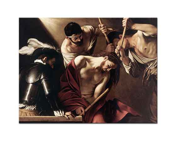 Michelangelo Caravaggio Hz Isa ve Dikenli Taç
