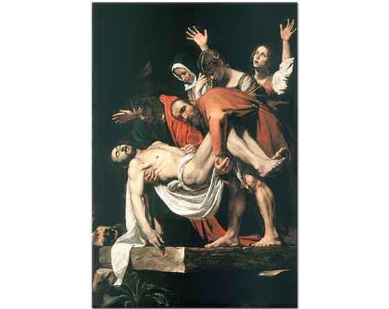 Michelangelo Caravaggio Hz Isa'nın Defnedilmesi