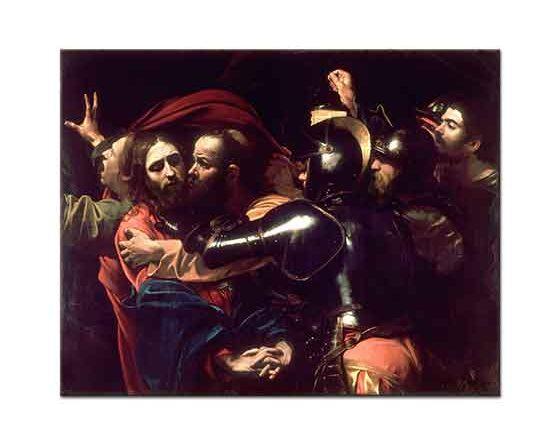 Michelangelo Caravaggio Hz Isa'nın Yakalanışı