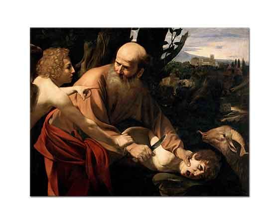 Michelangelo Caravaggio Hz Ismail'in Kurban Edilmesi