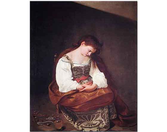Michelangelo Caravaggio Magdalene