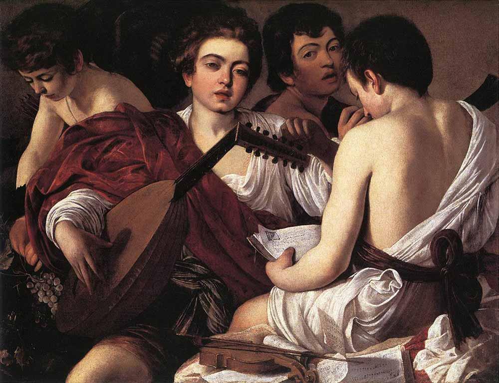 Michelangelo Caravaggio Müzisyenler