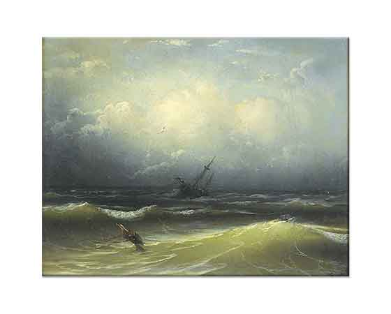Mıgırdıc Givanian Fırtınalı Deniz