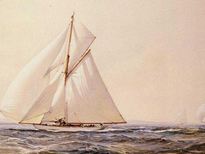 Montague Dawson Yat Yarışı tablosu