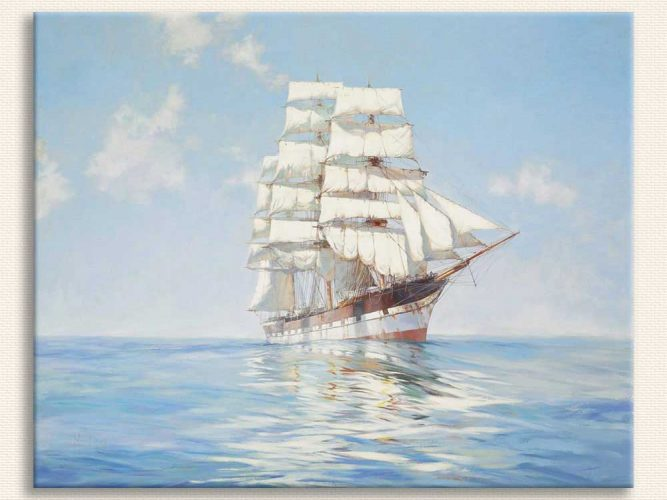 Montague Dawson Sakinlik tablosu