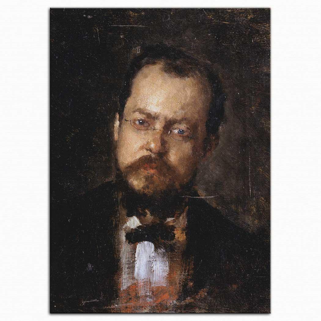 Nicolae Grigorescu Kendi Portresi