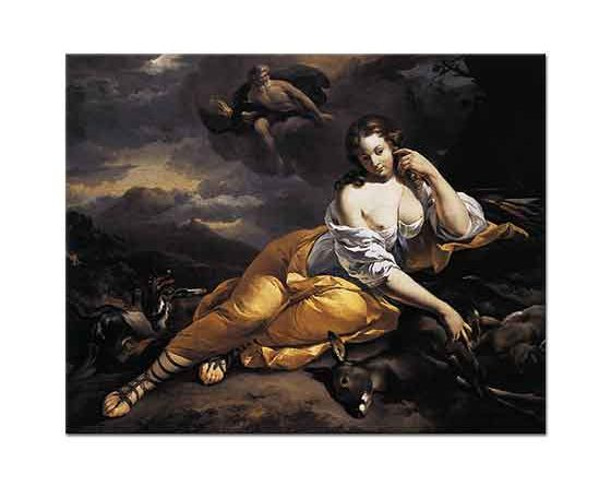 Nicolaes Pietersz Berchem Callisto'nun Jüpiter'e Mesajı
