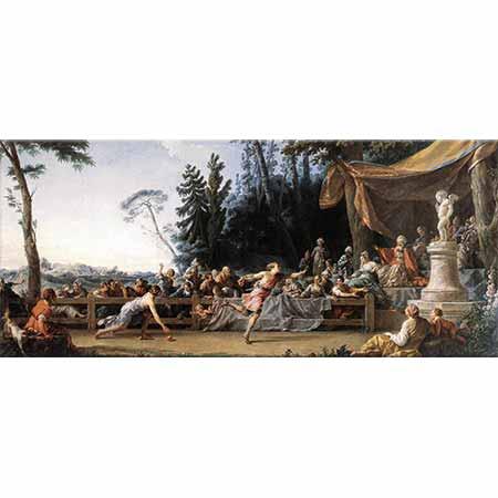 Noel Halle Hippomenes ile Atalanta'nın Yarışı