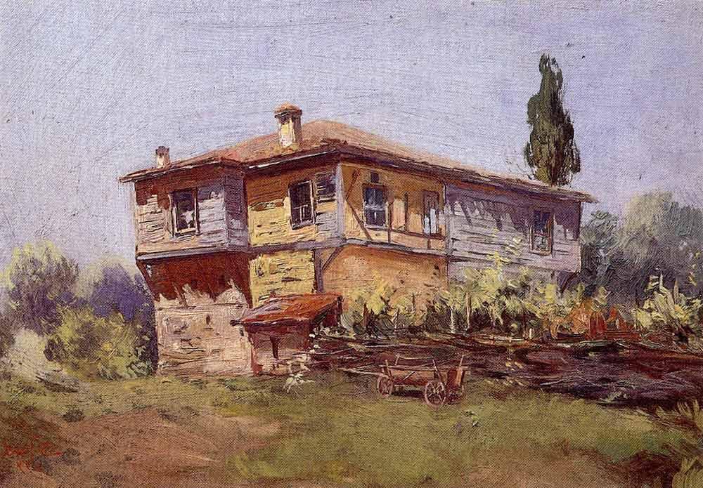 Osman Asaf Bora Aşı Boyalı Ev