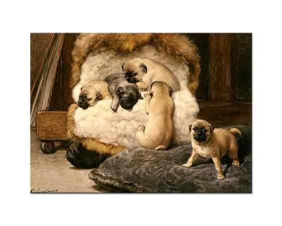 Otto Eerelman Yavru Mastifflerin Yuvası