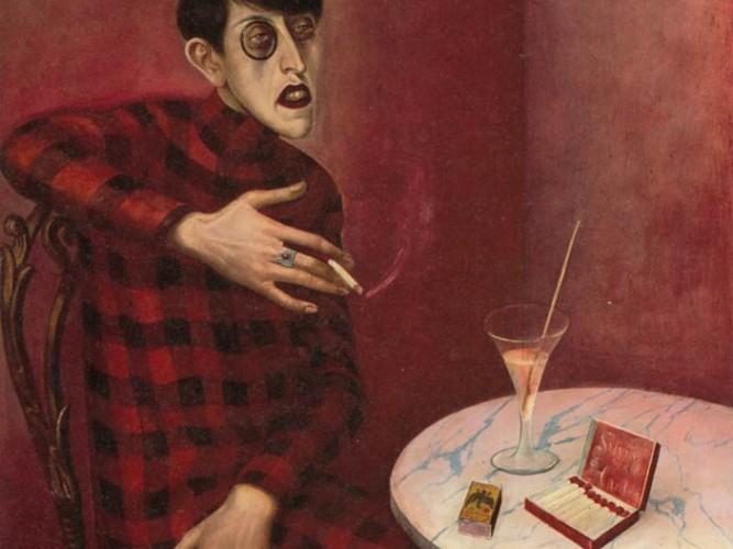 Otto Dix Gazeteci Sylvia von Harden'in Portresi