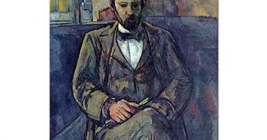 Paul Cezanne Ambroise Vollard'ın Resmi
