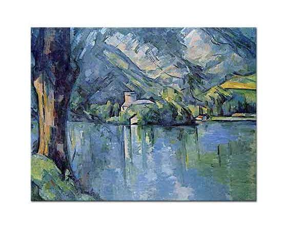 Paul Cezanne Annecy Denizi