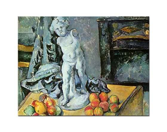 Paul Cezanne Biblolu Natürmort