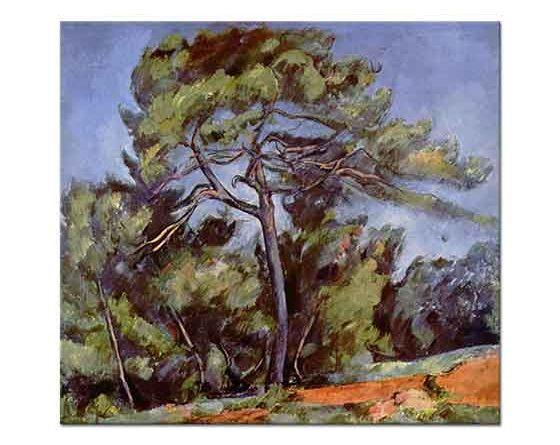 Paul Cezanne Büyük Çam Ağacı
