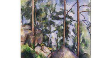 Paul Cezanne Çamlar ve Kayalar