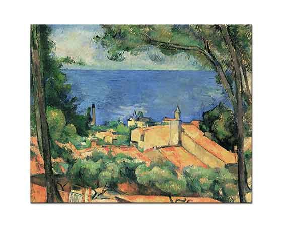 Paul Cezanne Esta Körfezi