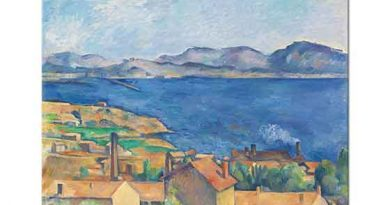 Paul Cezanne Estaque Körfezi