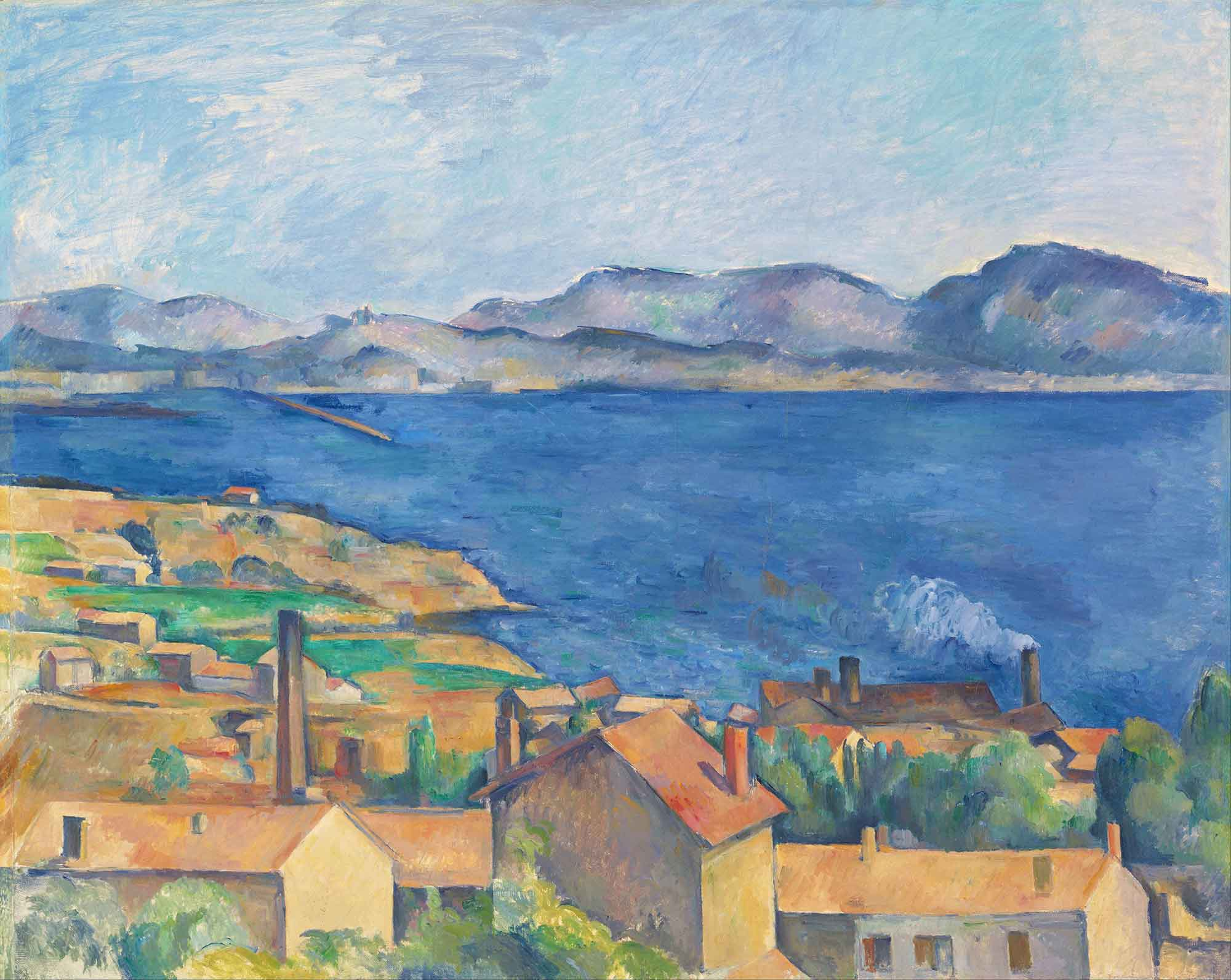 Paul Cezanne Estaque Körfezi