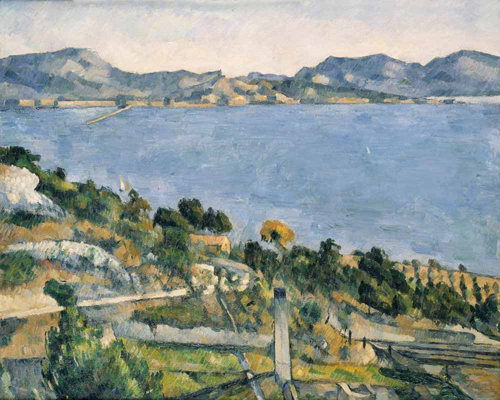 Paul Cezanne Estaque'de Deniz