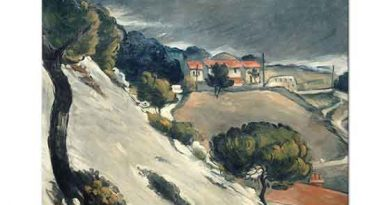 Paul Cezanne Estaque'de Eriyen Kar