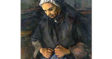Paul Cezanne Gül Demetli ihtiyar