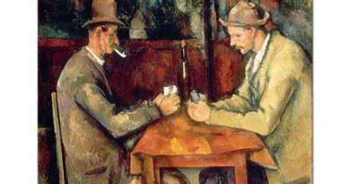 Paul Cezanne Kart Oynayanlar