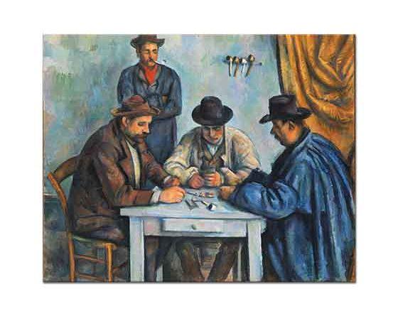 Paul Cezanne Kart Oyuncuları