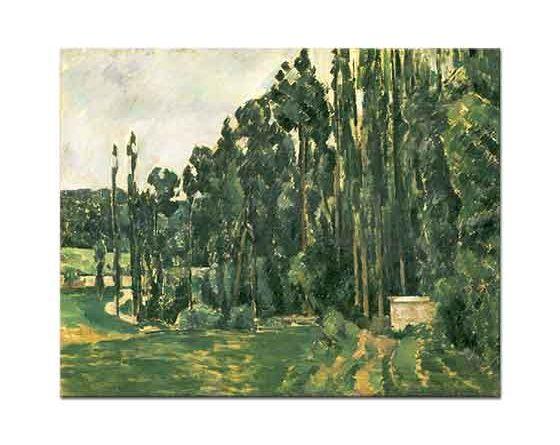 Paul Cezanne Kavaklar
