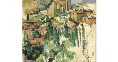 Paul Cezanne Kilise ve Manzara