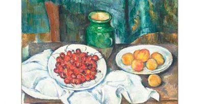 Paul Cezanne Kiraz ve Kayısılar