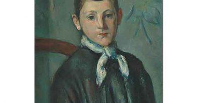 Paul Cezanne Louis Guillaume'nin Resmi