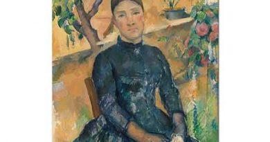 Paul Cezanne Madam Cezanne