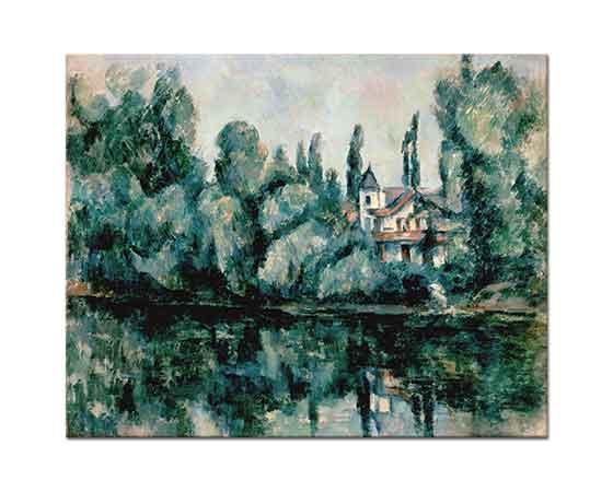 Paul Cezanne Marne Sahilinde