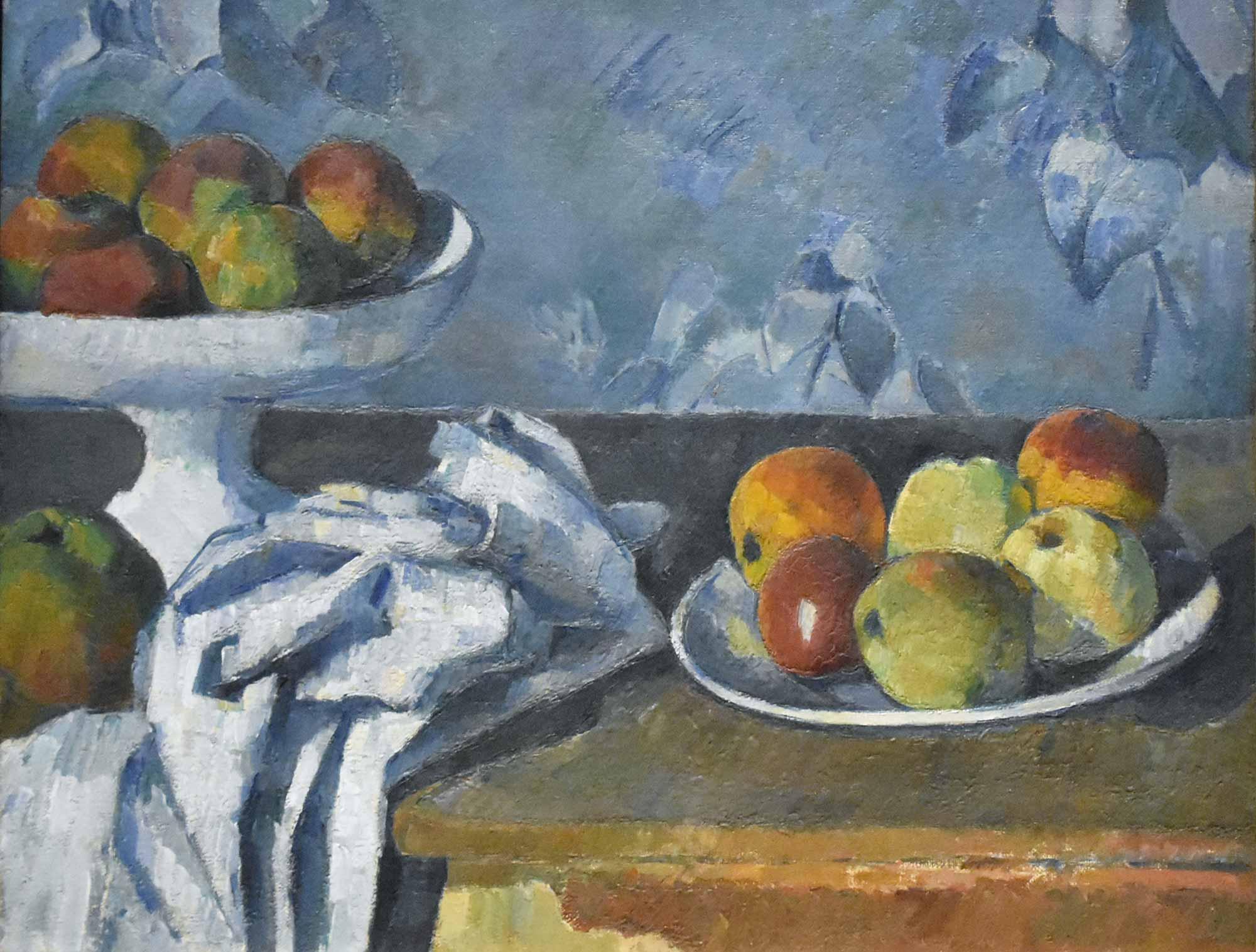 Paul Cezanne Meyve Kabı ve Elmalar