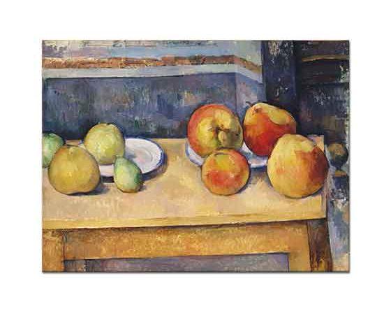 Paul Cezanne Meyveler ile Natürmort