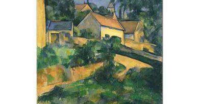 Paul Cezanne Mont Geroul'da Sokak