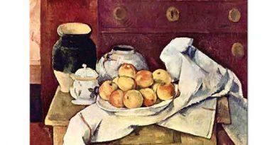 Paul Cezanne Natürmort